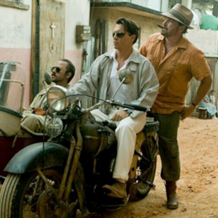 Giovanni Ribisi, Johnny Depp, Michael Rispoli, The Rum Diary