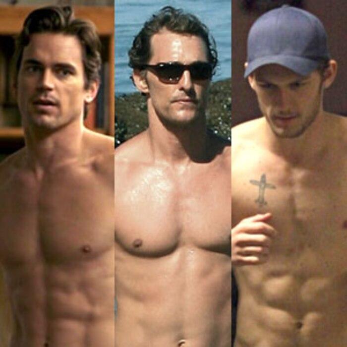 Matt Bomer, Matthew McConaughey, Alex Pettyfer
