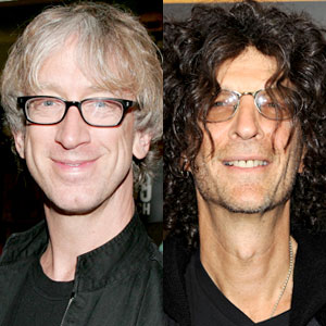 Andy Dick, Howard Stern