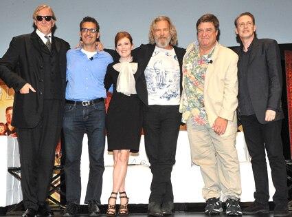 T Bone Burnett, John Turturro, Julianne Moore, John Goodman, Steve Buscemi