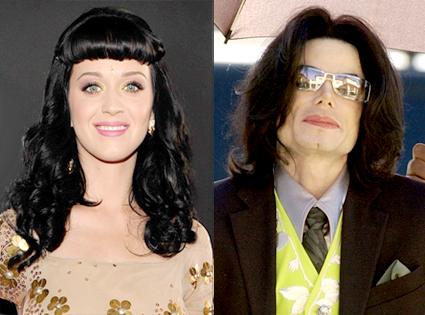 Katy Perry, Michael Jackson