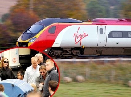 Virgin Train, BRAD PITT, ANGELINA JOLIE