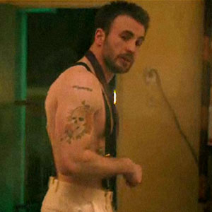 Chris Evans, Puncture