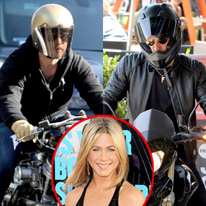 Brad Pitt, Justin Theroux, Jennifer Aniston