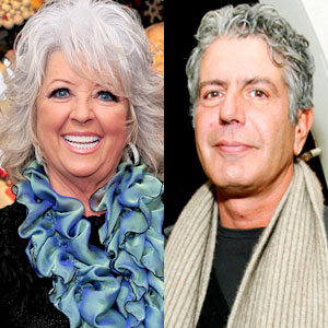 Paula Deen, Anthony Bourdain