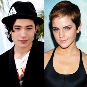 Ezra Miller, Emma Watson