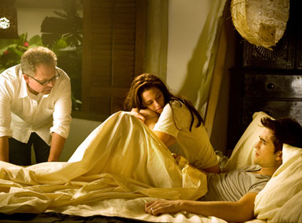 Bill Condon, Kristen Stewart, Robert Pattinson, Breaking Dawn