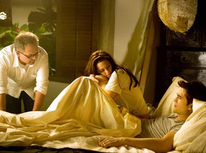 Bill Condon, Kristen Stewart, Robert Pattinson, Breaking Dawn