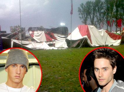 Pukkelpop Festival, Eminem, Jared Leto