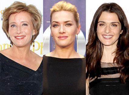 Emma Thompson, Kate Winslet, Rachel Weisz