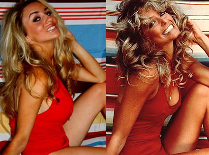 Courtney Stodden, Farrah Fawcett