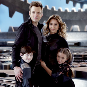 Joel McHale, Jessica Alba, Mason Cook, Rowan Blanchard, Spy Kids 4 All the Time in the World