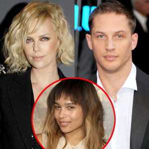 Charlize Theron, Tom Hardy, Zoe Kravitz