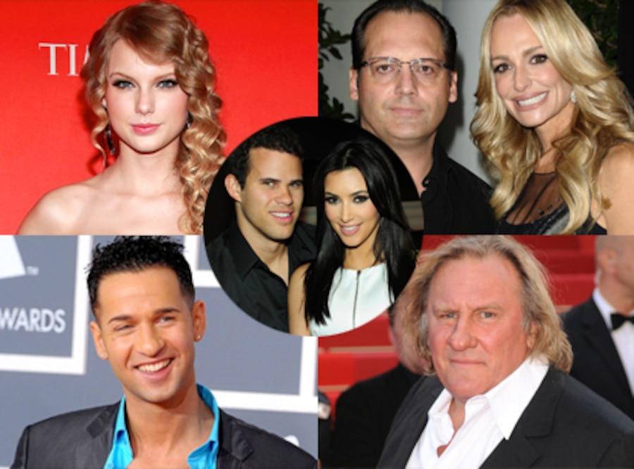 Week in Review, 8/19, Taylor Swift, Gerard Depardieu, The Situation, Russell, Taylor Armstrong, Kim, Kris