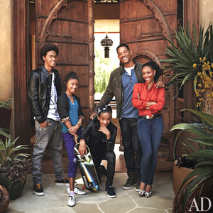 Will Smith, Jada Pinkett, Willow Smith, Jaden Smith, Trey Smith