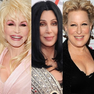 Dolly Parton, Cher, Bette Midler