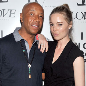 Russell Simmons, Melissa George