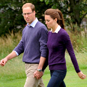 The Duke and Duchess of Cambridge, Prince William and Katherine