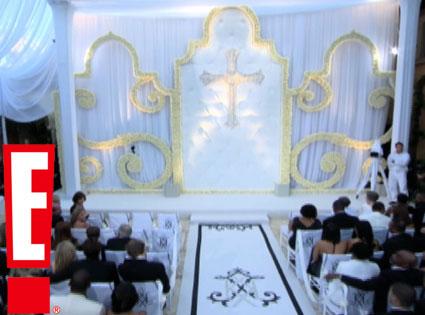 Kim Kardashian, Kris Humphries Wedding Video Screen Grabs