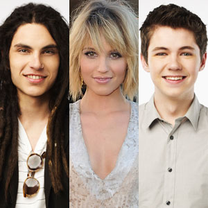 The Glee Project, Damian, Samuel, Dianna Agron