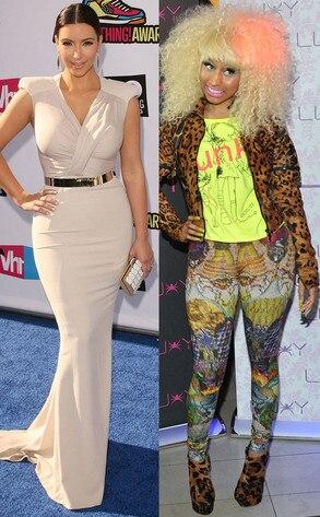 Nicki Minaj, Kim Kardashian