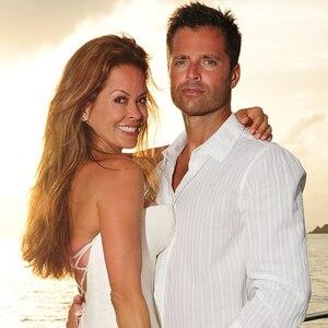 Check Out Brooke Burke And David Charvetu0027s Romantic Sunset Wedding Pic! |  E! News