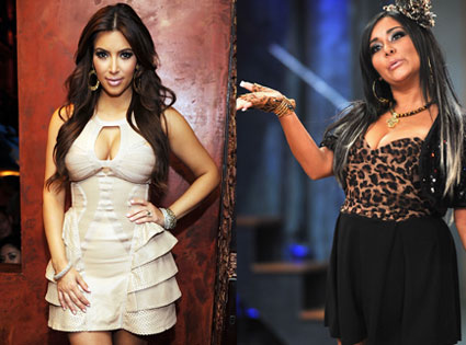 Nicole 'Snooki' Polizzi, Kim Kardashian