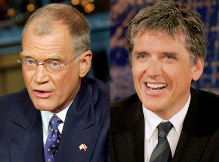 Craig Ferguson, David Letterman