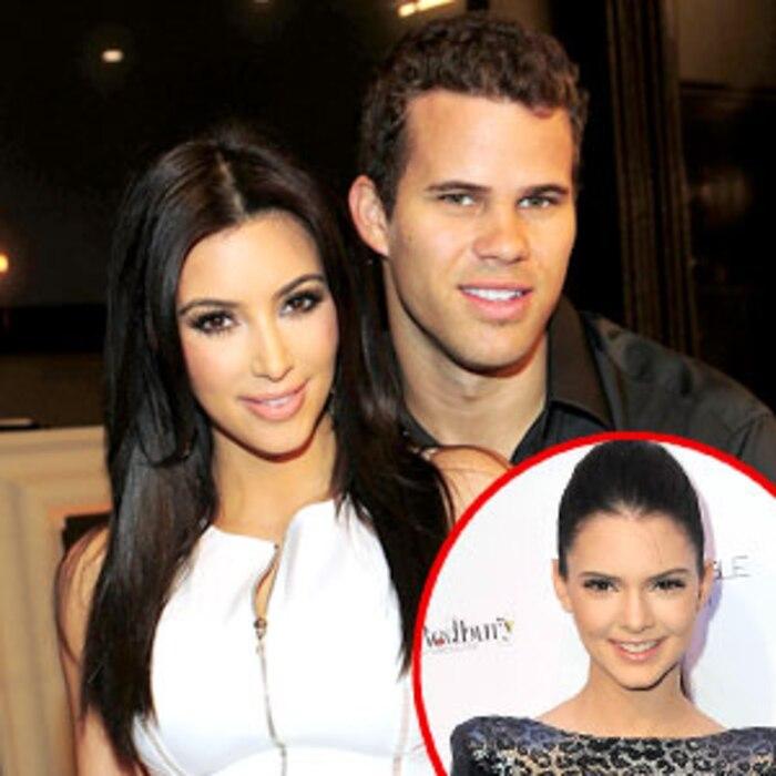 Kim Kardashian, Kris Humphries, Kendall Jenner