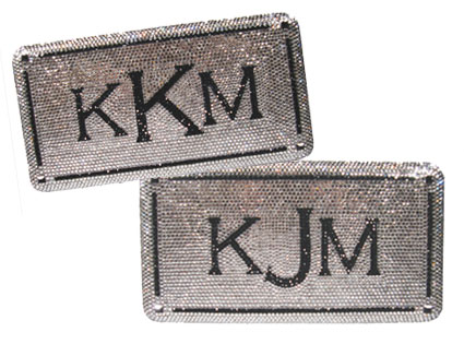 Kardashian, Jenner Monogram Clutch