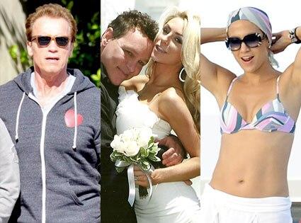 Arnold Schwarzenegger, Doug Hutchison, Courtney Alexis Stodden, Jennifer Lopez