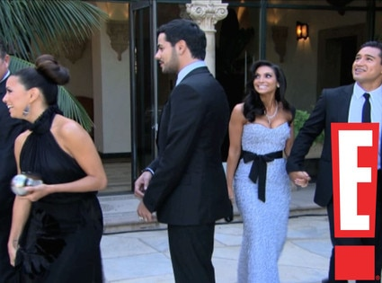 Kim Kardashian, Kris Humphries Wedding Screengrabs