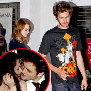 Andrew Garfield, Emma Stone, Kristen Stewart, Robert Pattinson