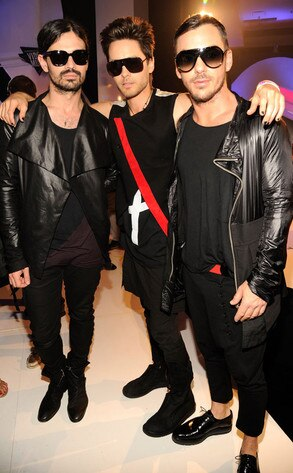 Jared Leto, Shannon Leto, Tomo Milicevic, 30 Seconds to Mars