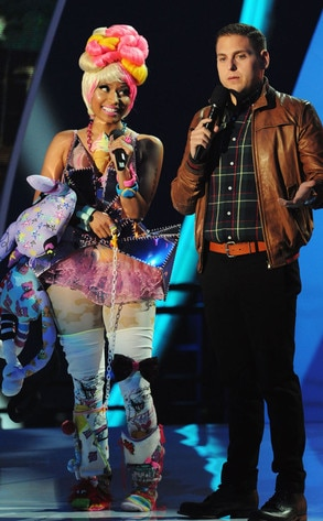 Nicki Minaj, Jonah Hill