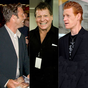 Griffin O'Neal, Ryan O'Neal, Redmond O'Neal