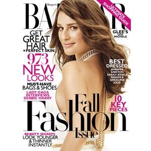 Lea Michele, Bazaar Cover