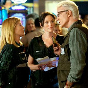 CSI: CRIME SCENE INVESTIGATION, Marg Helgenberger, Jorja Fox, Ted Danson
