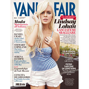 Lindsay Lohan, Vanity Fair