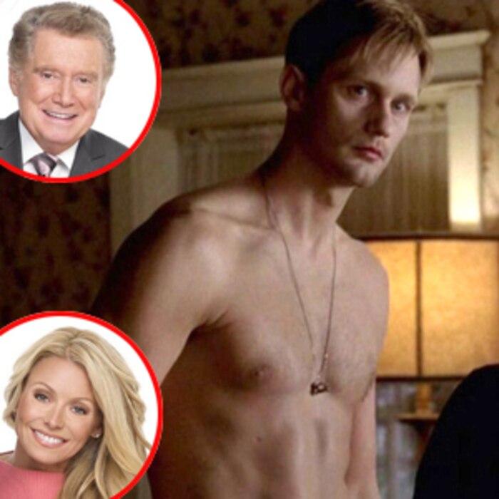 Alexander Skarsgard, True Blood, Regis and Kelly