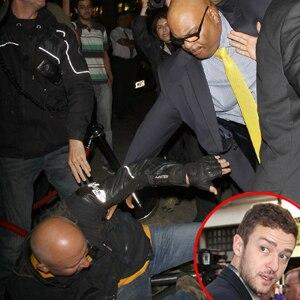 Justin Timberlake, Bodyguard