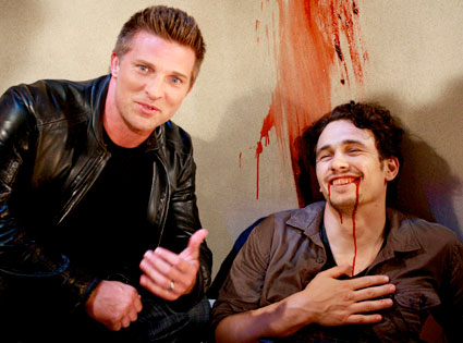 GENERAL HOSPITAL, STEVE BURTON, JAMES FRANCO
