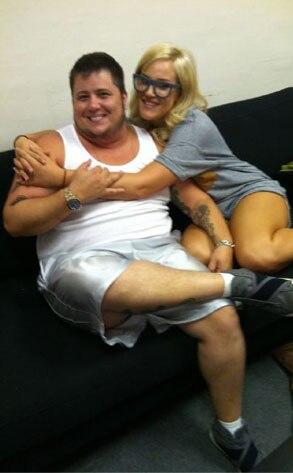 Chaz Bono, Lacey Schwimmer, Twitter