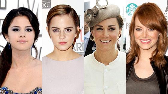 Selena Gomez, Emma Watson, Kate Middleton, Emma Stone, Queens of Summer