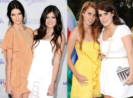 Kendall Jenner, Kylie Jenner, Beatrice, Eugenie
