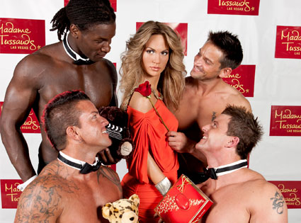 Jennifer Lopez, Wax Figure, Chippendales