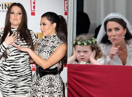 Khloe Kardashian Odom, Kim Kardashian, Grace Van Cutsen, Kate Middleton
