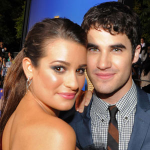 Glee Premiere, Lea Michele, Darren Criss