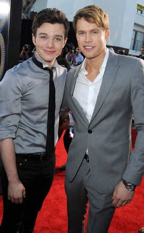 Glee Premiere, Chris Colfer, Chord Overstreet
