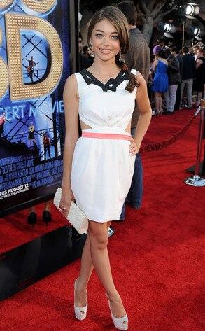 Glee Premiere, Sarah Hyland